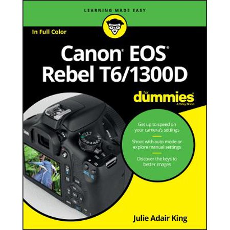 Canon EOS Rebel T6/1300d for Dummies - Life Size Dummy