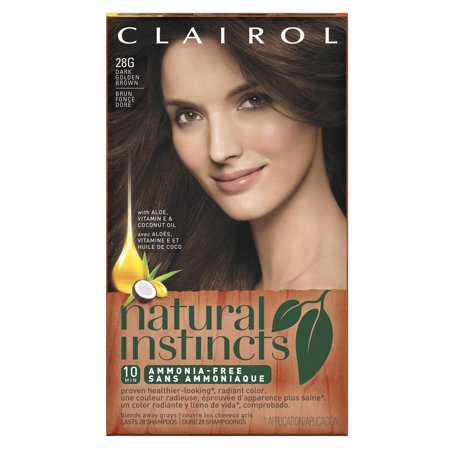 Clairol Natural Instincts Hair Color 28g Golden Cappuccino Dark