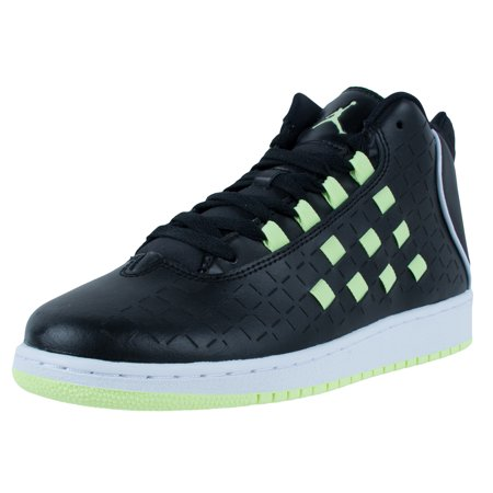 Nike Jordan Girl - NIKE GIRLS JORDAN ILLUSION GG SNEAKERS BLACK LIQUID LIME WHITE 705535 015
