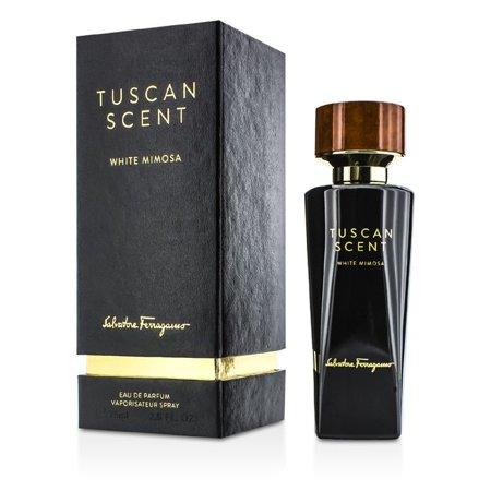 Tuscan Scent White Mimosa Unisex Perfume by Salvatore Ferragamo - 2.5 oz Eau De Parfum Spray (New In Box)