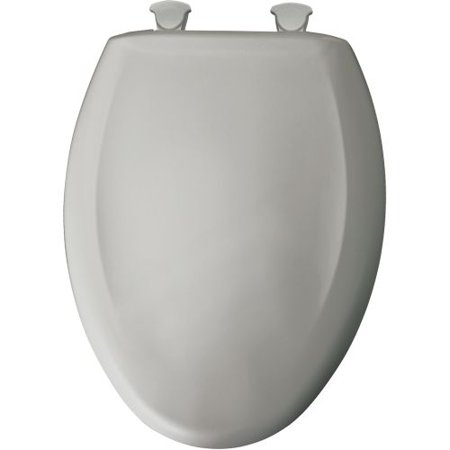 - Bemis  1200SLOWT  Toilet Seat  Accessory  Elongated  ;Silver