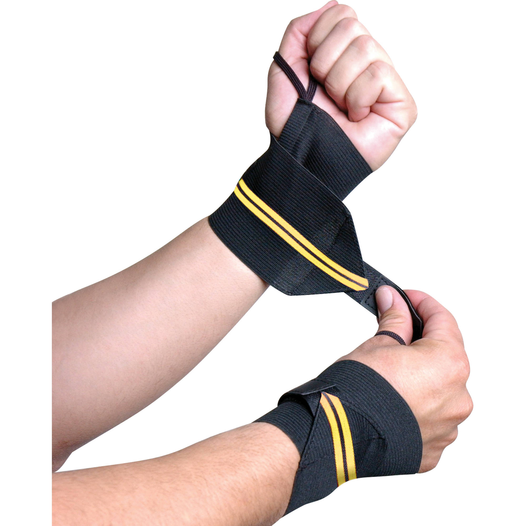 CAP Barbell Wrist Wraps with Thumb Loop, Pair