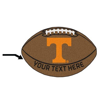 Personalized University of Tennessee Football Mat