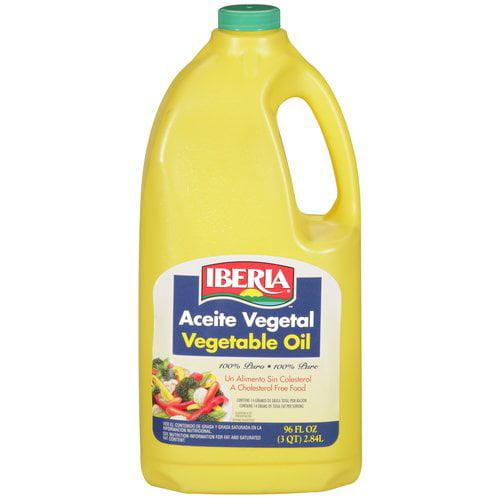 Iberia 100% Pure Vegetable Oil, 96 oz