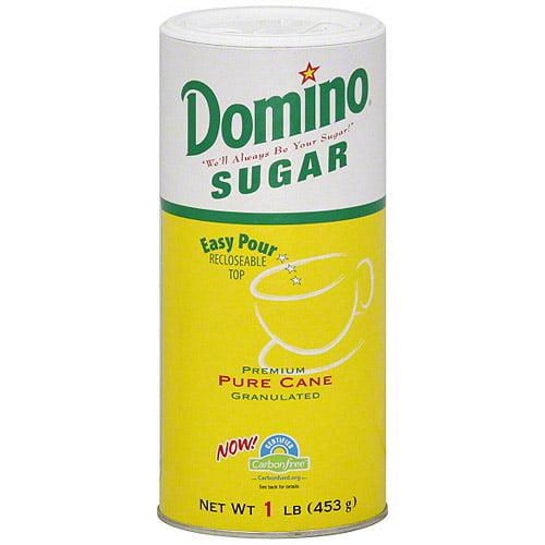 Domino Granulated Sugar, 1 lb (Pack of 12)