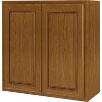 SUNCO INC. RANDOLPH W3630RA-B 36X30 2 DOOR OAK KITCHEN - Burnished Oak Corner Cabinet