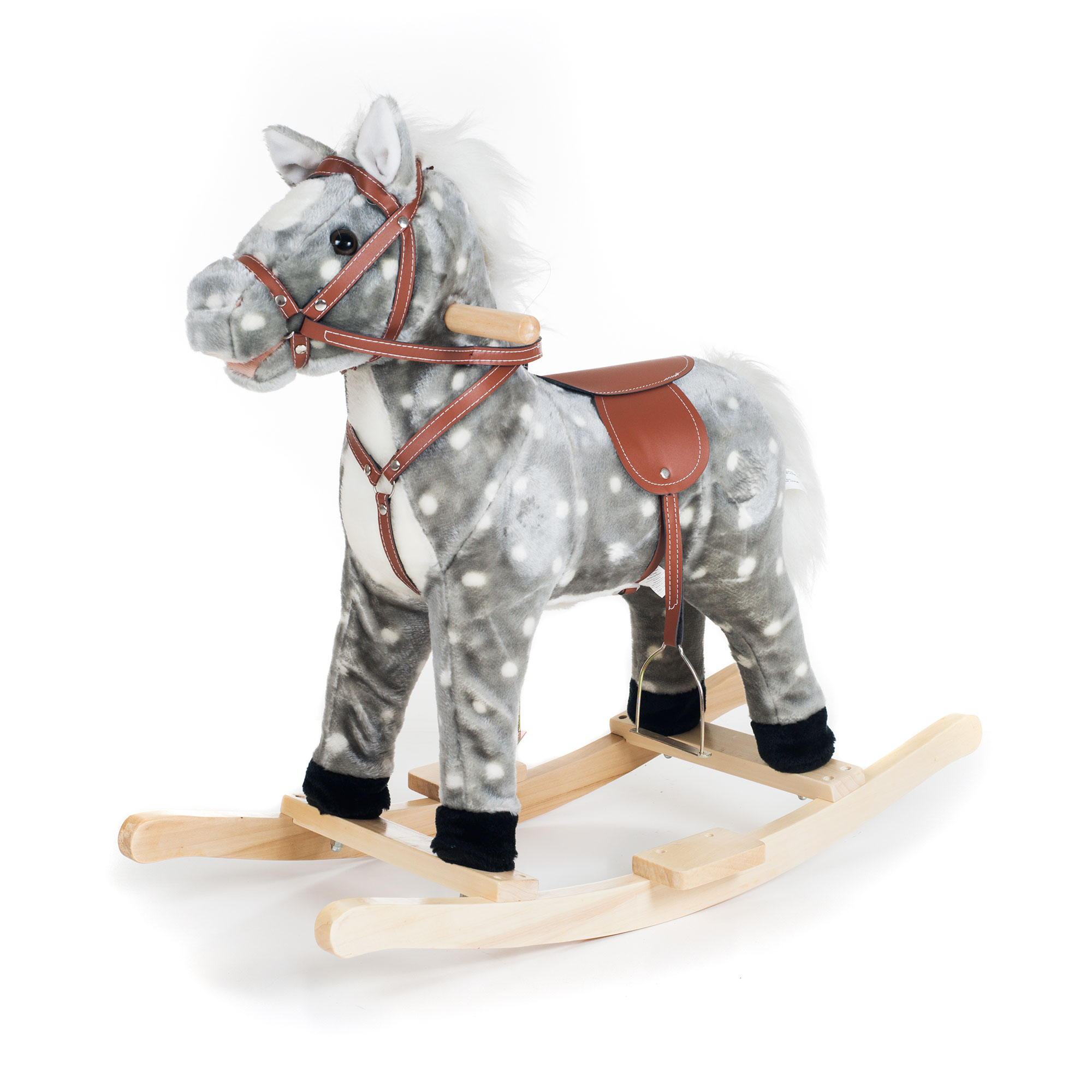 Haley Horse Rocking Horse Animal Ride On Toy by Happy Trails