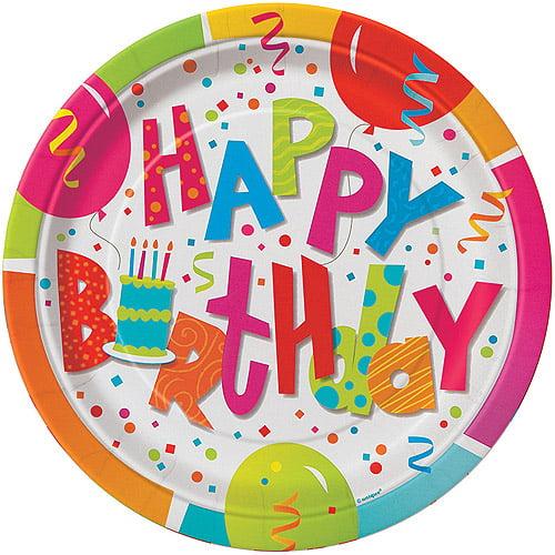 "9"" Jamboree Birthday Party Plates, 8ct"