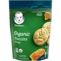 Baby & Toddler Snacks: Gerber Organic Biscuits
