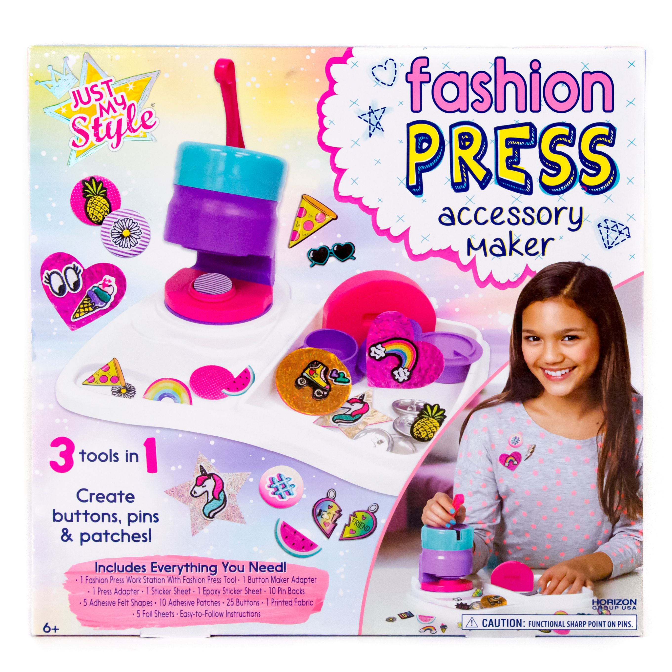 Just My Style Fashion Press Accessory Maker Kit, 1 Each
