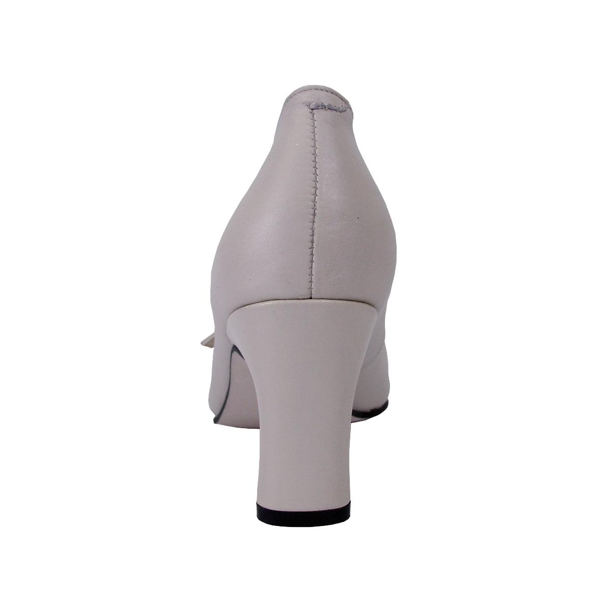 cd3fae5c8bc4 Peerage - Helena Women Wide Width Leather T-Strap Double Buckles High Heel  Pumps - Walmart.com