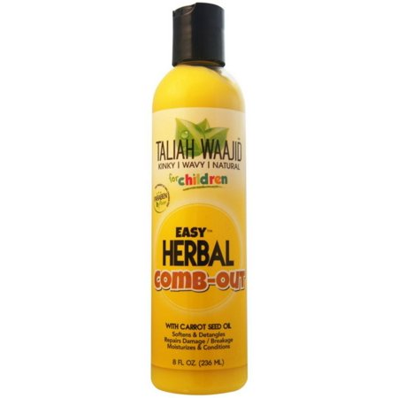 Taliah Waajid Kinky, Wavy, Natural Easy Herbal Comb Out Detangler, 8 fl oz