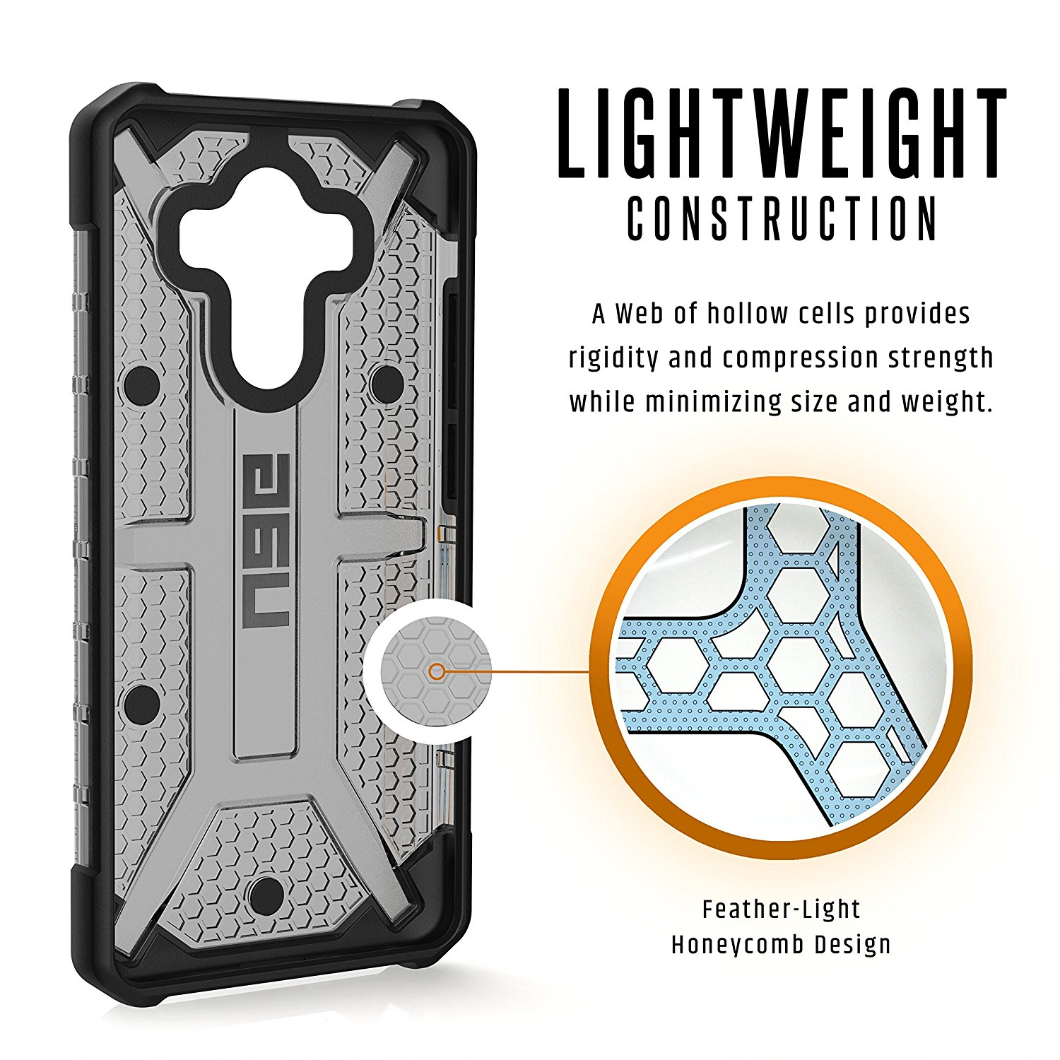 uk availability 10bf8 c7e2c UAG Huawei Mate 10 Pro [5-inch screen] Plasma Feather-Light Rugged [ASH]  Case