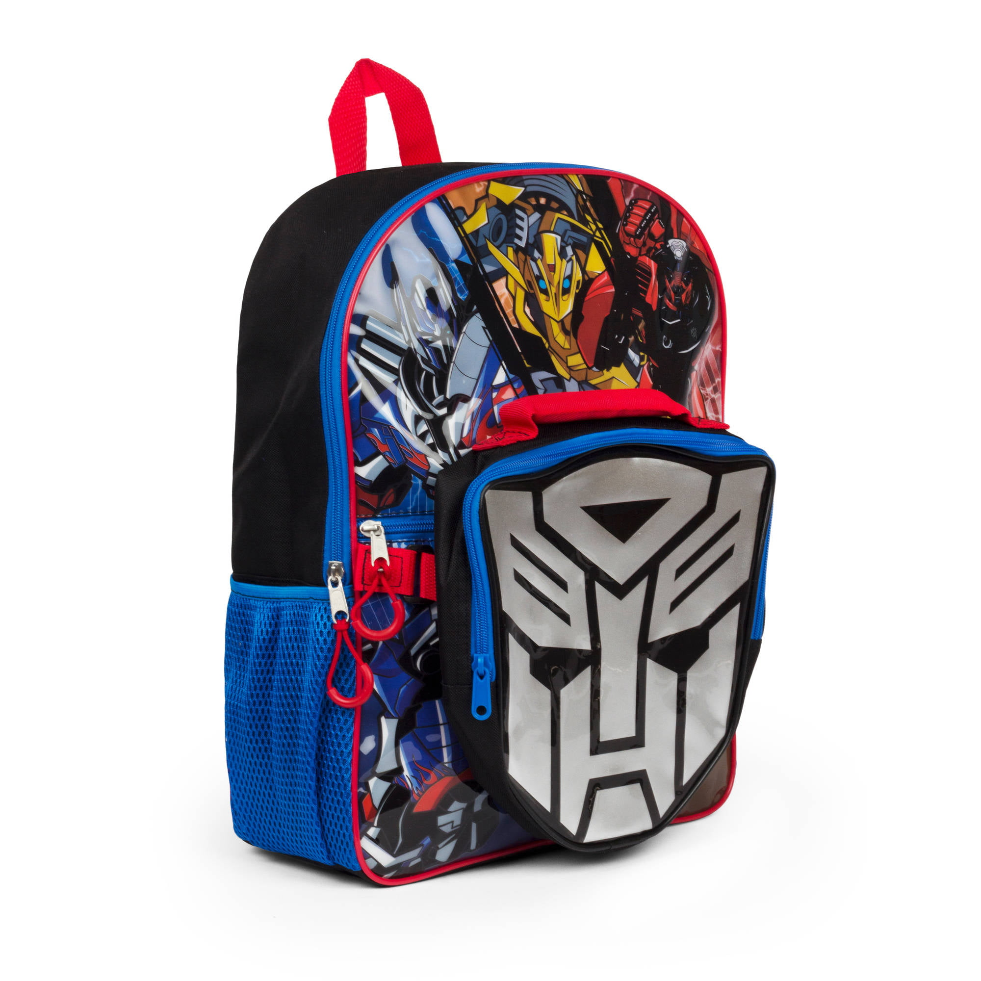"""16"""" Transformers Backpack with Lunch kit by"""