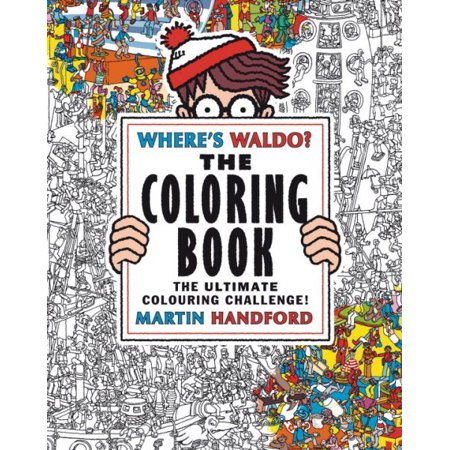 Where's Waldo? the Coloring Book - Waldo Wizard Costume