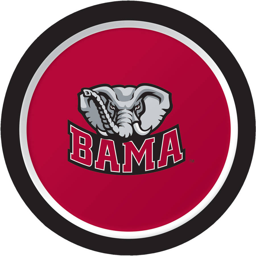 Alabama Crimson Tide Dessert Plates, 8-Pack