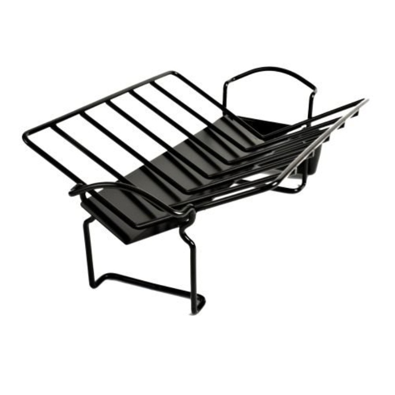 Charcoal Companion Non-Stick Roasting Rack w Juice Reservoir by The Companion Group