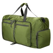 80L Camping Duffel Bag Large Size,Packable Travel Duffle Bags for Men and Women,Waterproof Lightweight Foldable Gym Bag HFON