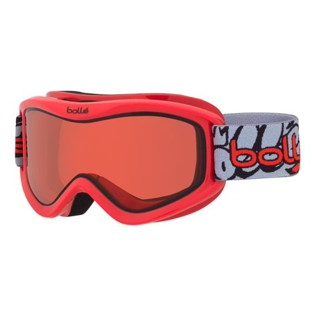 Shield Goggle Lens - Bolle Volt Snow Goggles (Red Graffiti Frame/Vermillon Lens)