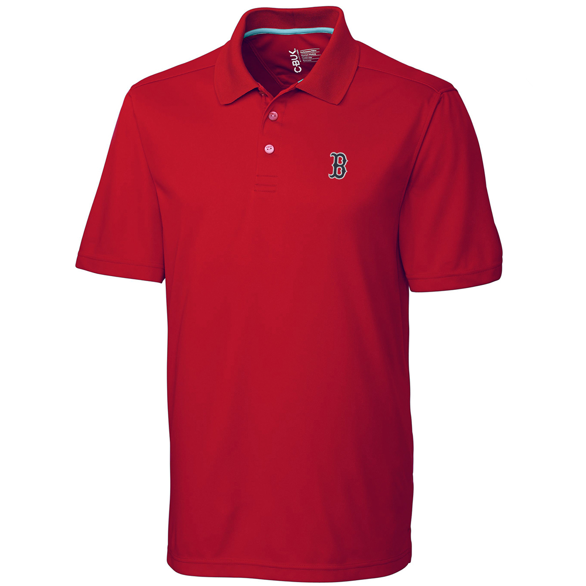Boston Red Sox CBUK by Cutter & Buck DryTec Fairwood Polo - Red