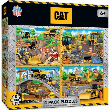 Caterpillar Puzzle (MasterPieces 4-Pack Puzzles - Caterpillar 4-Pack 100 Piece Puzzle)