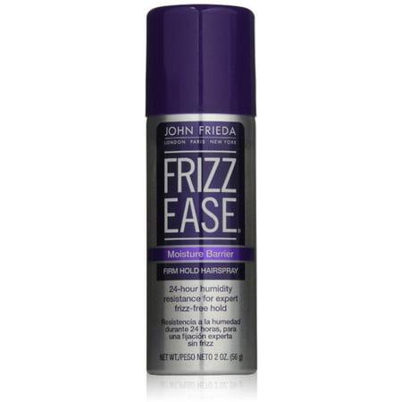 John Frieda Frizz Ease Moisture Barrier Hairspray, Firm Hold 2 oz (Pack of 2) Barrier Film Pump Spray