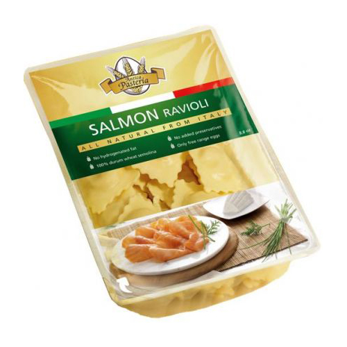 Antica Pasteria Fresh Salmon Ravioli 8.8 oz by Antica Pasteria