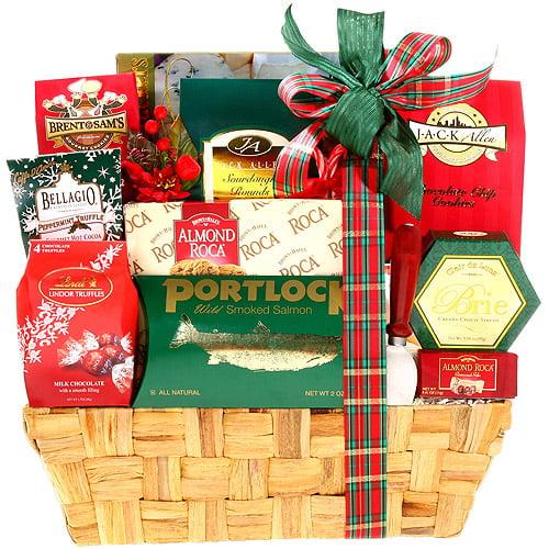Traditional Holiday Gift Basket