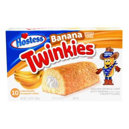 Hostess® Banana Twinkies® 13.58 oz Box (10 count)