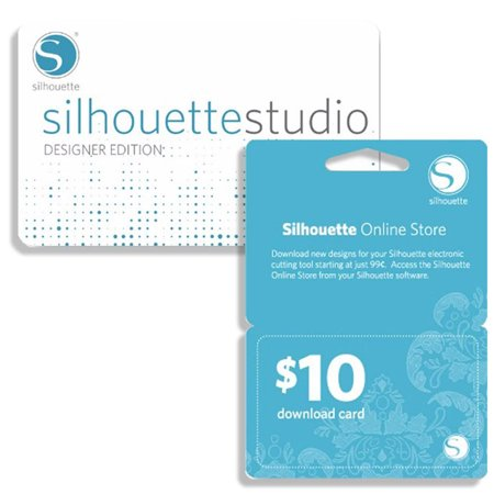 Silhouette Studio Designer Edition with $10 Gift Card