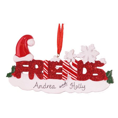 Friends Personalized Christmas Ornament DO-IT-YOURSELF
