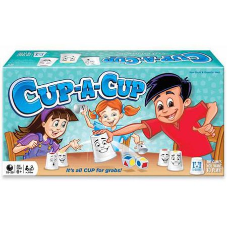 R&R Games Cup a Cup Quick Thinking Cup Grabbing Game - Space Themed Group Games