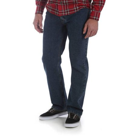 d11e522e Wrangler - Wrangler Big Men's Performance Series Regular Fit Jean -  Walmart.com