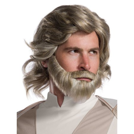 Star Wars Episode VIII - The Last Jedi Luke Skywalker Wig and Beard Set](Old Man Wig And Beard)