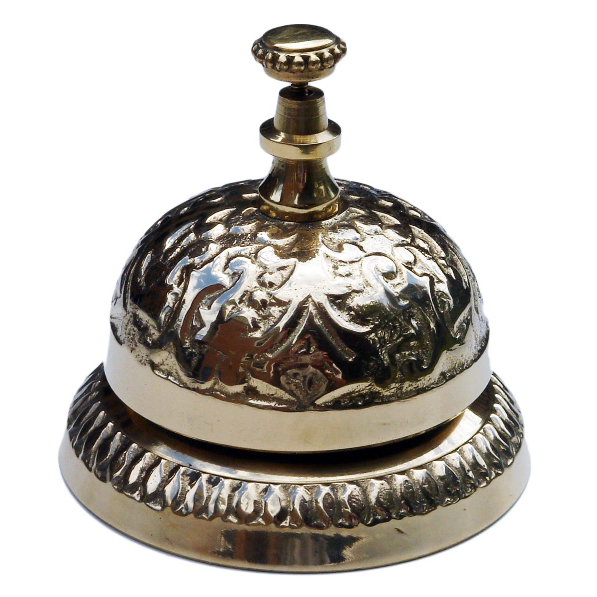NEW Antique Look Brass Bell Desk Victorian Hotel Home Decor Decoration Gift