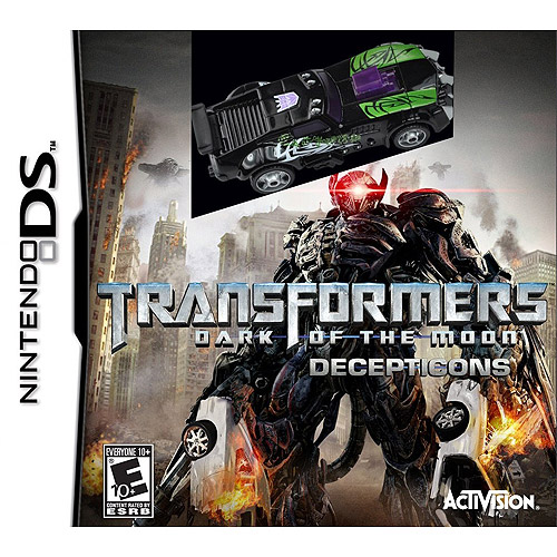 Transformers: Dark of the Moon - Decepticons With Toy
