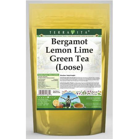 Bergamot Lemon Lime Green Tea (Loose) (4 oz, ZIN: 536366)