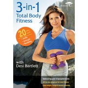 3-In-1 Total Body Fitness With Desi Bartlett (DVD)