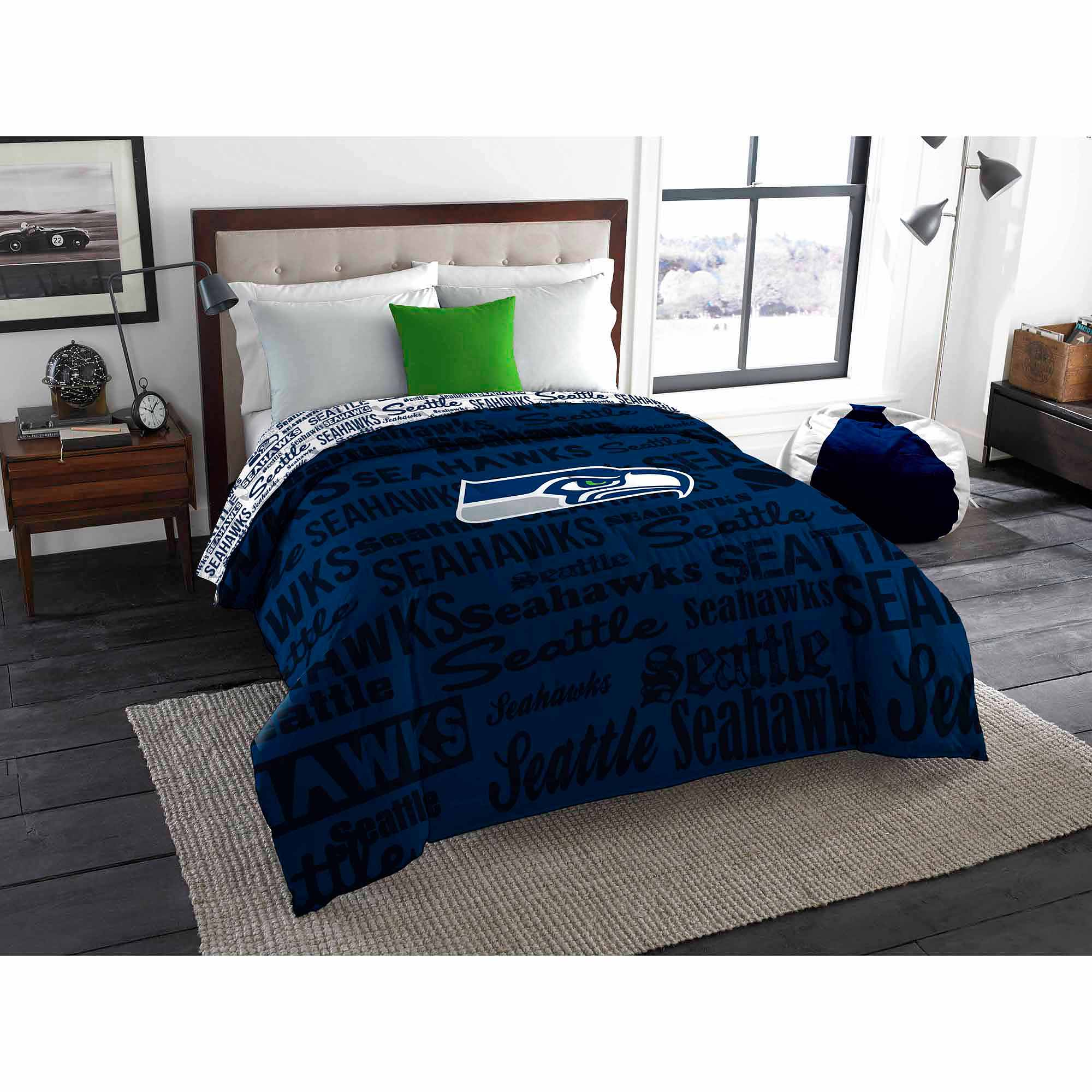 NFL Seattle Seahawks Twin/Full Bedding Comforter
