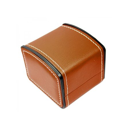 Topumt Classic Upscale Watch Display Box PU Leather Jewelry Storage Case Watch Winders Jewelry Watch Box