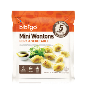 Bibigo Mini Wontons Pork & Vegetable, 24 oz.