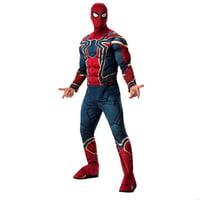 Marvel Avengers Infinity War Deluxe Mens Iron Spider Halloween Costume