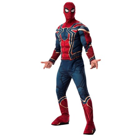 Marvel Avengers Infinity War Deluxe Mens Iron Spider Halloween Costume