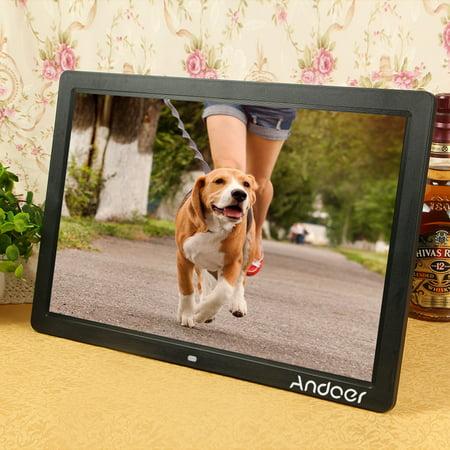 """Andoer 17"""" LED Digital Photo Frame High Resolution 1440"""