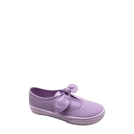 Girls Vans Slip On Shoes (Wonder Nation Girls' Bow Slip on)