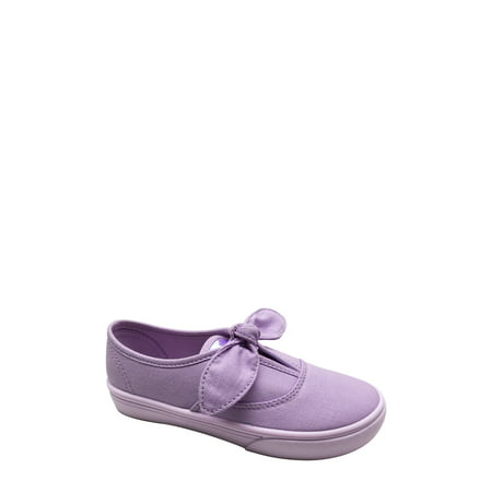 Wonder Nation Girls' Bow Slip on Sneaker ()