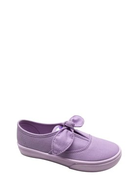 4ad6cb4bd5cdab Product Image Girls  Casual Bow Slip On Sneaker