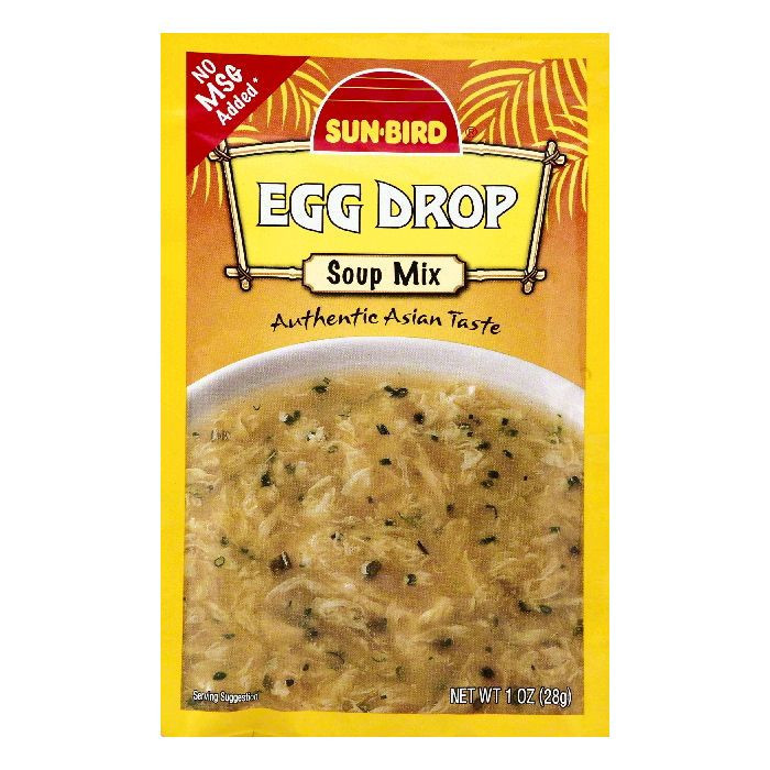 Sun-Bird Soup Mix Egg Drop, 1.0 OZ