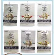Bracelet-Stretchy-Anchor Assortment-Peggable-6 Styles & Colors (Pack Of 18)