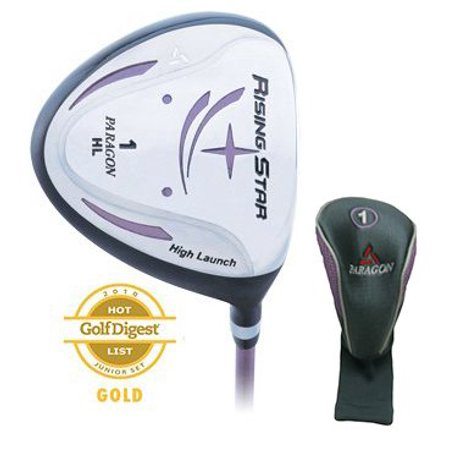 Paragon Golf Rising Star Girls Junior Driver Ages 8-10 Lavender / Right-Hand ()